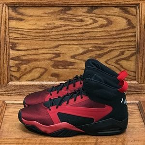 Jordan Lift Off Black Gym Red White Shoes